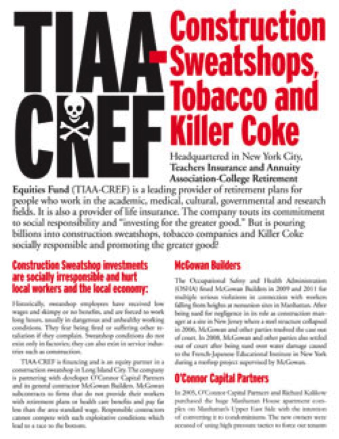 NYC District Council of Carpenters vs. TIAA-CREF: 2012-13